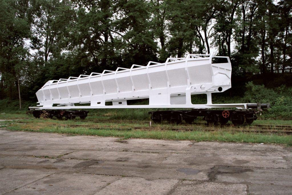 Transporter - rama wagonu specjalnego o ładowności do 100 ton